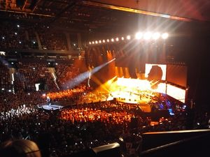 Blick auf die Grönemeyer-Konzertbühne